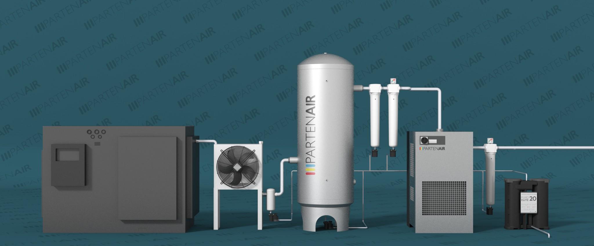 Standard installation : refrigeration dryers
